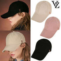 ★VARZAR★新作★送料込み★Rose gold stud over fit ball cap