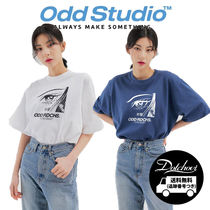 Odd Studio Face T-shirt (2Color) CA266 追跡付