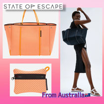 【 State of escape × Olympia】toteバック