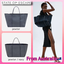 【state of escape】toteバック 〜pewter〜