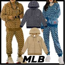 ★送料・関税込★MLB Korea★Monogram Training Hoodie Zip-U.p