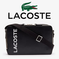 LACOSTE★ L.12.12 LEATHER リポーターバック - NH3329I20C