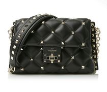 VALENTINO★Candystuds crossbody bag black  (謝恩品EMS関税込)