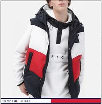 Tommy Hilfiger★正規品★Color block hooded down vest/追跡付