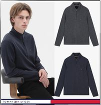 Tommy Hilfiger★正規品★Cotton Blend Half Zip Top/追跡付