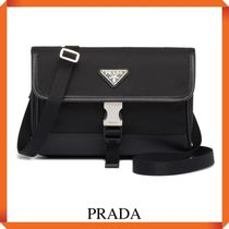 PRADA Nylon and Saffiano Leather Smartphone Case