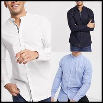 River Island long sleeve slim oxford shirt