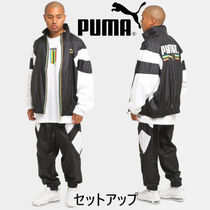 【PUMA】セットアップ☆Worldhood Woven Top&Pants☆追跡付