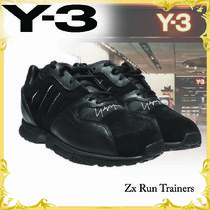 ☆Y-3☆ ワイスリー Zx Run Trainers ブラック