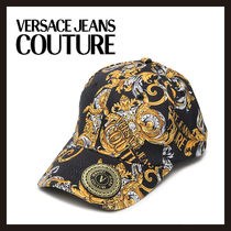 【Versace Jeans Couture】バロックリント キャップ 帽子