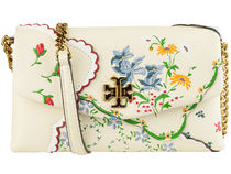 TORYBURCH トリー KIRA FLORAL CHAIN WALLET【送料0/国内即発】