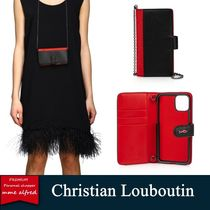 【人気】 Christian Loubouti ★ Loubiflap iphone ケース