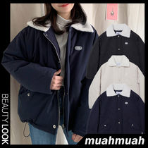 【muahmuah】Wappen Dumble Field Jumper 3色★ジャンパー