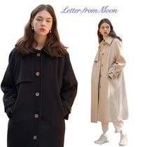 【Letter from Moon】20fw Parisian Wool Trench Coat 2色