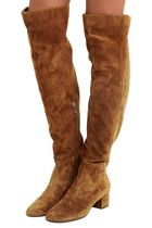 Suede Over Knee-High Boots スエード オーバーニーハイブーツ