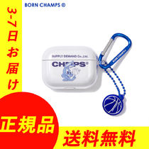 【BORN CHAMPS】◆AirPodsProケース◆3-7日でお届け/関税 送料込