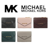 MichaelKors Xgrain Leather Envelope Wallet【BF】