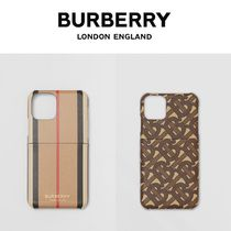 【Burberry】 iPhone 11 Proケース 2種