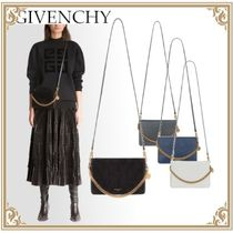 ☆GIVENCHY☆CROSS3 BAG IN TWO-TONE LEATHER☆4Color☆Lady's☆