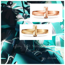 Tiffany&Co Tiffany T T1 Narrow Ring 18k gold
