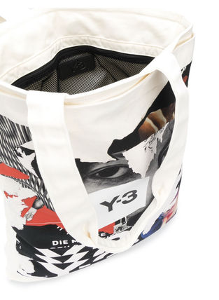 Y-3 トートバッグ 関税込・送料込☆Y-3 CH1 GFX TOTE トートバッグ(3)