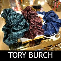 Outlet買付★国内発送 TORY SILK SCRUNCHIEシルクシシュ