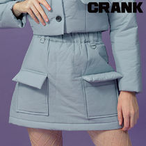★CRANK★PADDING POCKET SKIRT_SKY★正規品★韓国直送料込
