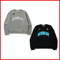 A BATHING APE★BUSY WORKS LOOSE FIT COLLEGE スウェット
