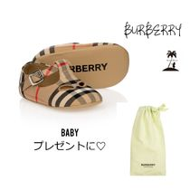 ★BURBERRY★ギフトにも☆Baby チェックプレウォーカーシューズ
