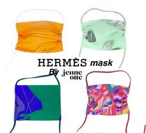 HERMES mask by Jeune Otteエルメス ヴィンテージスカーフマスク