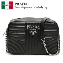 Prada diagramme crossbody bag