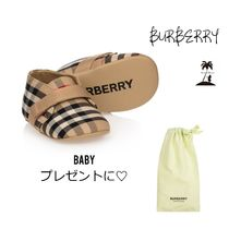 ★BURBERRY★ギフトにも☆BabyチェックプレウォーカーシューズⅡ