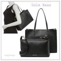 【Cole Haan】3WAY★Grand Ambitionトートバッグ Black