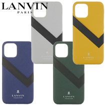 LANVIN(ランバン) iPhone・スマホケース 【LANVIN COLLECTIO】SLIM WRAP SAFFIANO iPhone12/ 12Pro mini