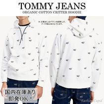 【TOMMY HILFIGER】ORGANIC COTTON CRITTER HOODIE ロゴパーカー