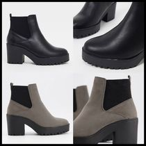 ASOS New Look heeled chunky chelsea boot