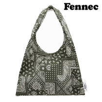 ★FENNEC★新作★送料込み★韓国★ペイズリー PALSLEY TOTE BAG