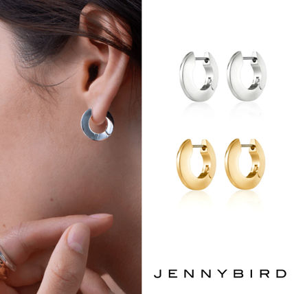 【JENNY BIRDジェニーバード】TONI HINGED HOOPS SMALL