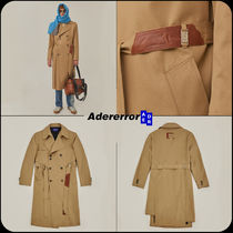 【 ADERERROR 】★韓国大人気★Torn label trench coat