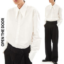 OPEN THE DOOR(オープンザドア)★Wide Collar Shirts 3色