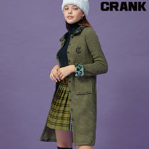 ★CRANK★REOPARD LONG KNIT CARDIGAN_KH★正規品★韓国直送料込