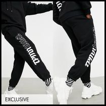 Topman exclusive ASOS co-ord joggers with side print