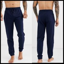 Tommy Hilfiger lounge tapered joggers with flag logo in navy
