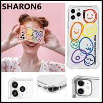 ★SHARON6★2020韓国人気★かわいい iPhone CASE  [HAPPYTHINGS]