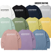 [grooverhyme] NYC LOCATION LONG SLEEVE T-SHIRTS