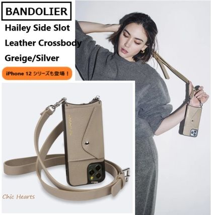 BANDOLIER★ Hailey Side Slot/人気のGreige! ※iPhone12も登場!