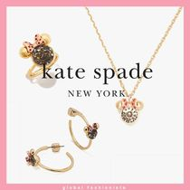 kate spade new york x minnie mouse  ネックレス ピアス リング