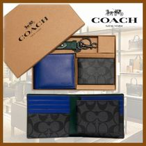★COACH★3-In-1 Wallet★BOX入り★ギフトセット★二つ折り財布