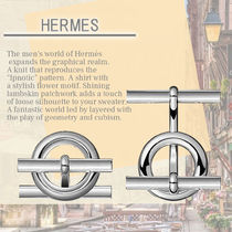 Hermes☆Mini Chaine d'Ancre cufflinks 贈り物として最適