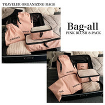 【Bag-all】NY発♡トラベルバッグ セット PINK BLUSH 8PACK